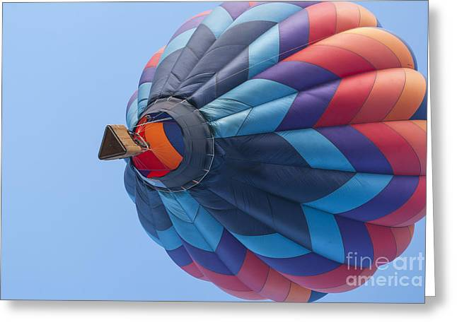 Balloon Greeting Cards - Lift Off Greeting Card by Juli Scalzi