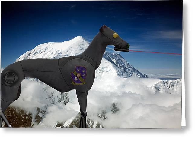 Light Armored Recon Hound Greeting Card by Kevin  Sherf