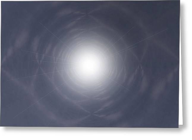 Light At The End Of The Tunnel Greeting Card by Thomas  MacPherson Jr