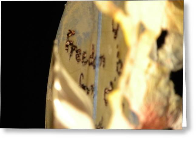 Light Greeting Card by Evan Pullins