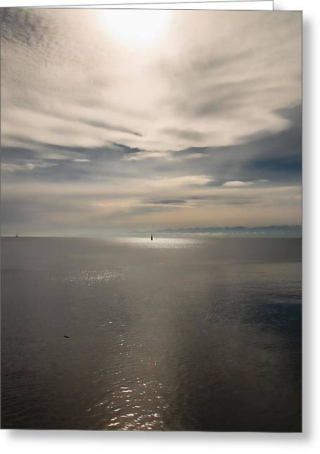 Smoothness Greeting Cards - Light from Above Greeting Card by Marilyn Wilson