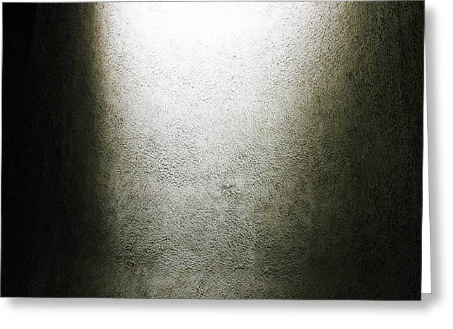 Light Gradient - 1 of 3 Greeting Card by Alan Todd