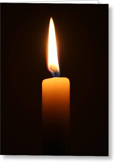 Light Greeting Card by Graham Ettridge