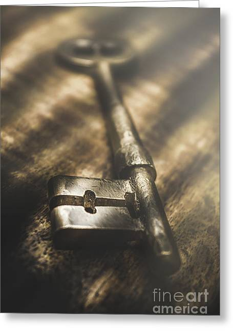 Light Is The Key  Greeting Card by Jorgo Photography - Wall Art Gallery