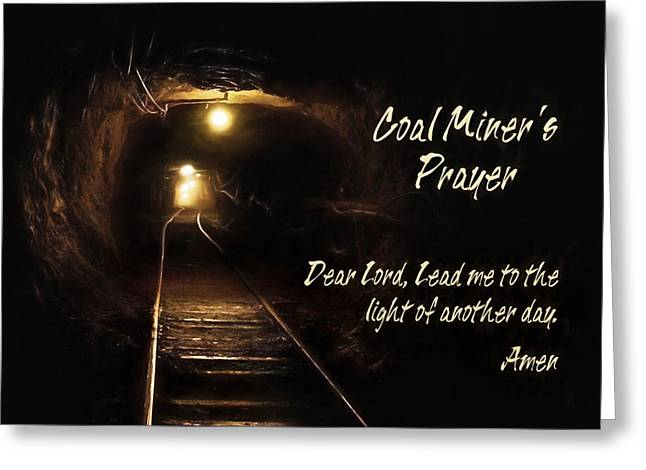 Anthracite Greeting Cards - Light of Another Day Greeting Card by Lori Deiter