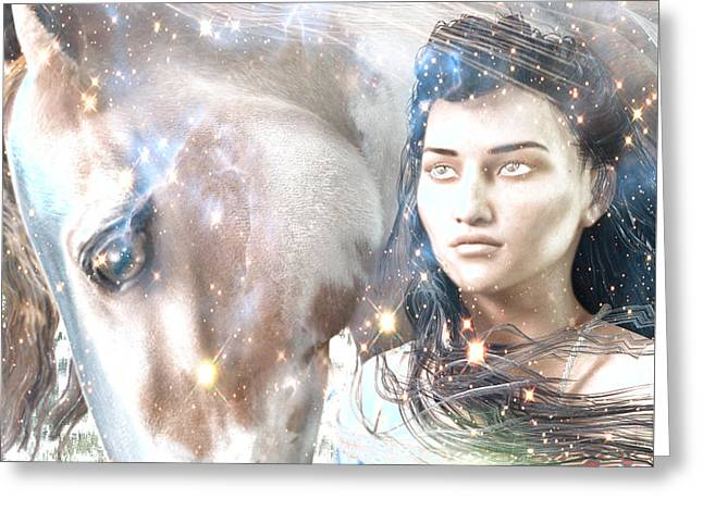 Kateri Tekakwitha Greeting Cards - Light of the Mohawks Greeting Card by Suzanne Silvir