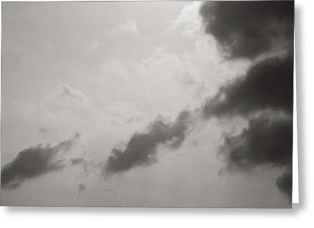Light of the Sky Greeting Card by Konstantin Dikovsky