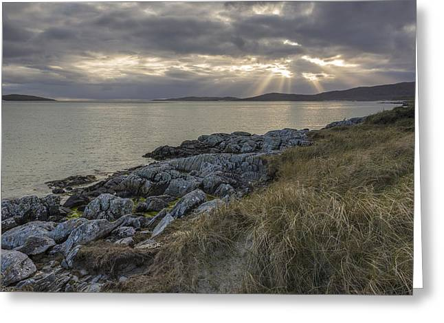 Visitscotland Greeting Cards - Light on Luskentyre Greeting Card by Rich Dyson