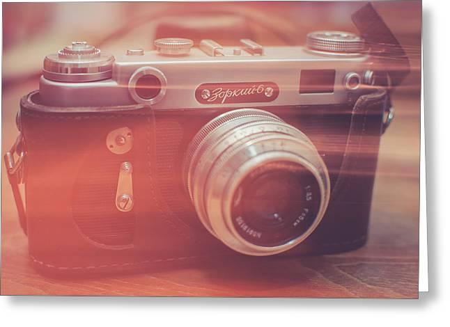 Camera Greeting Cards - Light Greeting Card by Ondrej Supitar