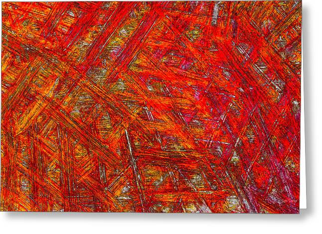 Light Sticks 2 Greeting Card by Sami Tiainen