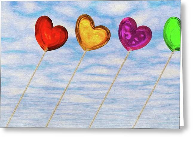 Balloons Greeting Cards - Lighter than Air Greeting Card by Jeff Kolker