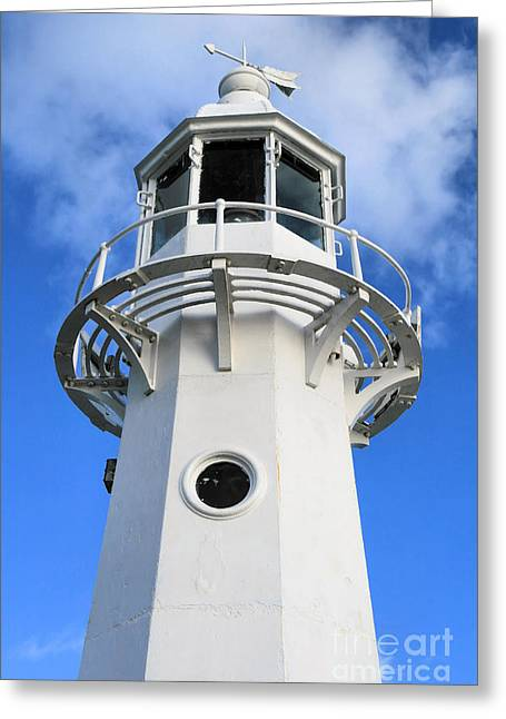 Kernow Greeting Cards - Lighthouse Greeting Card by Carl Whitfield