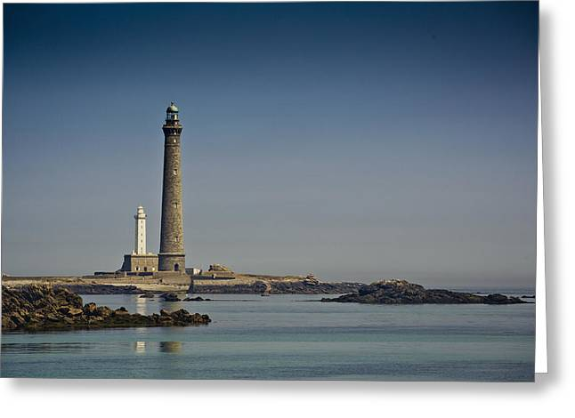 Lighthouse Greeting Card by Nailia Schwarz