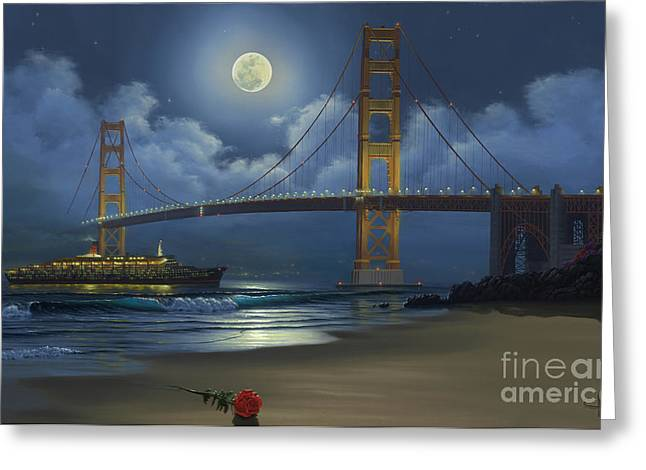 Lighting The Way Home Greeting Card by Al Hogue