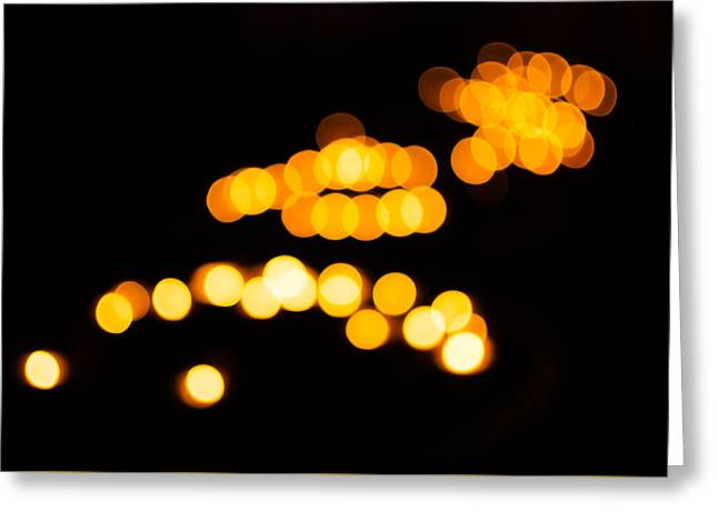 Candle Lit Greeting Cards - Lights Of Notre-Dame Greeting Card by Marcus Karlsson Sall