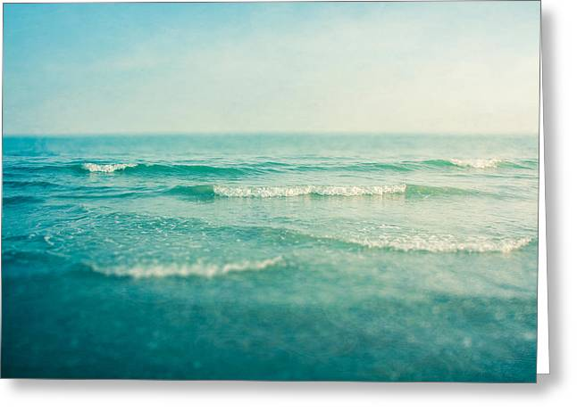 Wave Greeting Card featuring the photograph Like A Dream by Violet Gray
