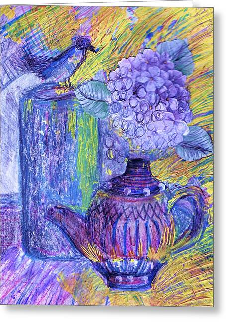 Like It Or Not It Is Different Greeting Card by Anne-Elizabeth Whiteway