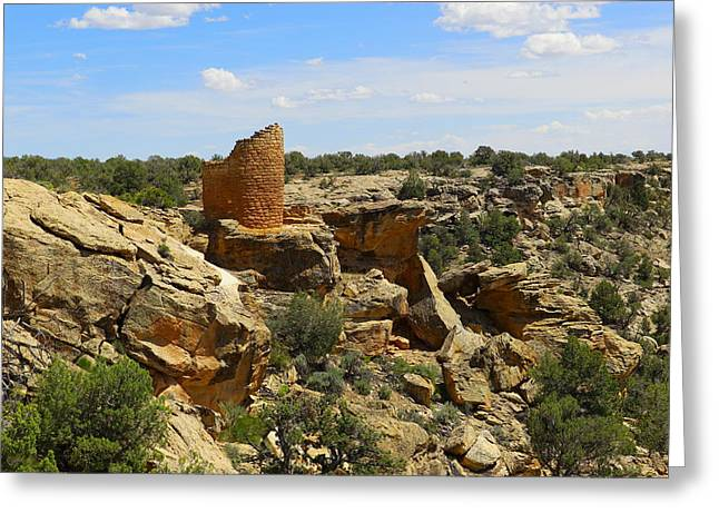 Old Relics Photographs Greeting Cards - Like old stone Castles Greeting Card by Jeff  Swan
