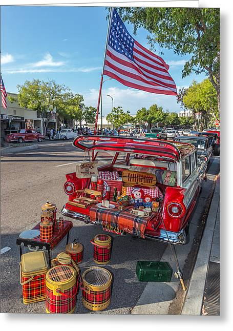 Like The 4th Of July Greeting Card by Peter Tellone
