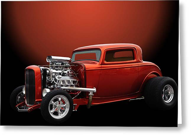 Deuce Greeting Cards - Lil Deuce Coupe Greeting Card by Jim  Hatch