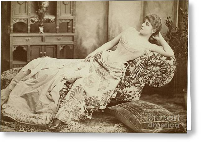 LILLIE LANGTRY (1852-1929) Greeting Card by Granger