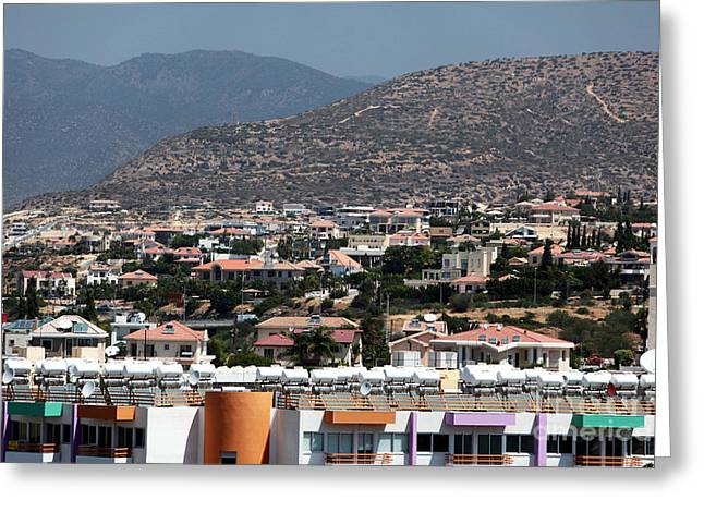 Cypriotic Greeting Cards - Limassol Greeting Card by John Rizzuto