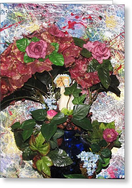 Fall Sculptures Greeting Cards - Linda Adams 2010 Time To Go  Greeting Card by HollyWood Creation By linda zanini