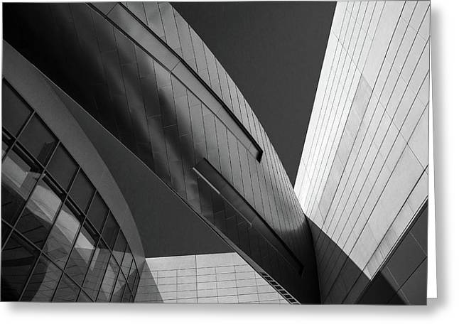 Architecure Lines  Greeting Card by Frank Molina