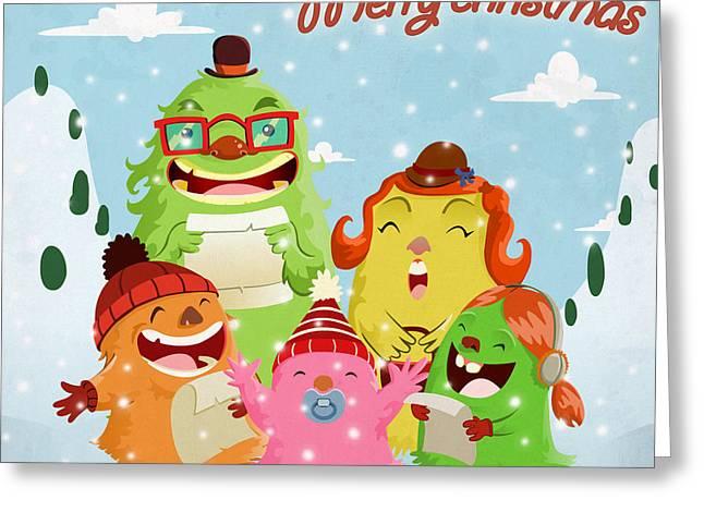 Lint Greeting Cards - Lint family Greeting Card by Javier Bernardino