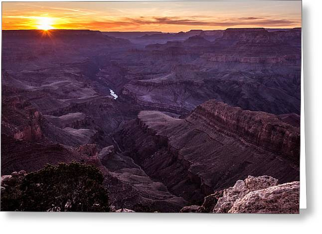 Lipan Point - Grand Canyon, United States - Landscape Photography Greeting Card by Giuseppe Milo