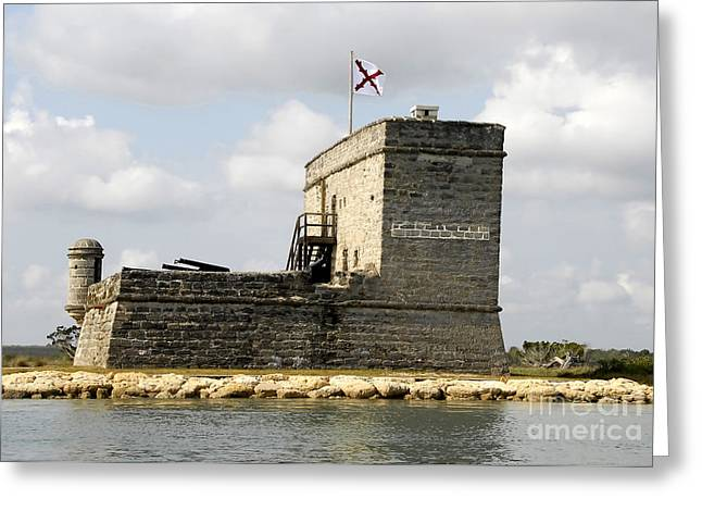 Matanzas Greeting Cards - Little Big Fort Greeting Card by David Lee Thompson