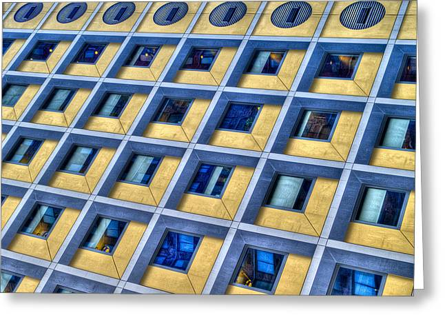 Abstract Digital Photographs Greeting Cards - Little Boxes Inside Boxes Greeting Card by Paul Wear