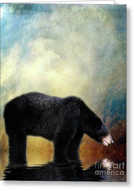 Little Boy Greeting Cards - Little Boy Lost Greeting Card by Lois Bryan