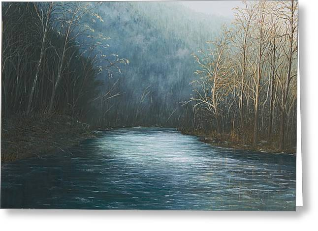 Little Buffalo River Greeting Card by Mary Ann King