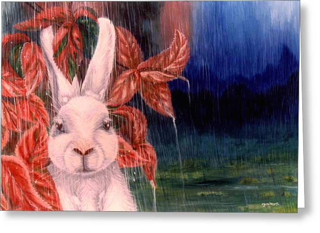 Clever Paintings Greeting Cards - Little Clever Greeting Card by Tushar Ch
