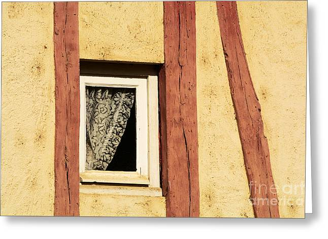 Rectangles Greeting Cards - Little French Window Greeting Card by Alexandra Lavizzari