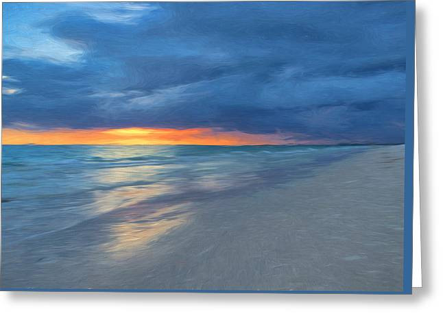 Beach Greeting Cards - Little Hickory Beach Greeting Card by Kim Hojnacki