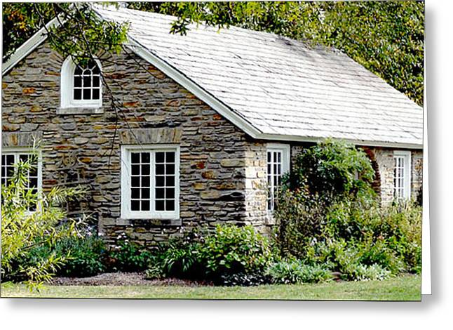 Paint Photograph Greeting Cards - Little House Greeting Card by Warren M Gray