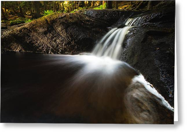 Waterfall Greeting Cards - Little Little High Falls Greeting Card by Cale Best