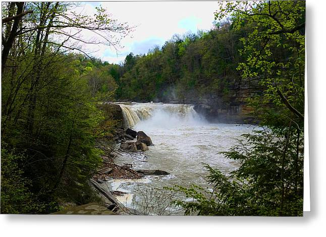 Southern Boone County Greeting Cards - Little Niagara Falls Greeting Card by Michael Rucker