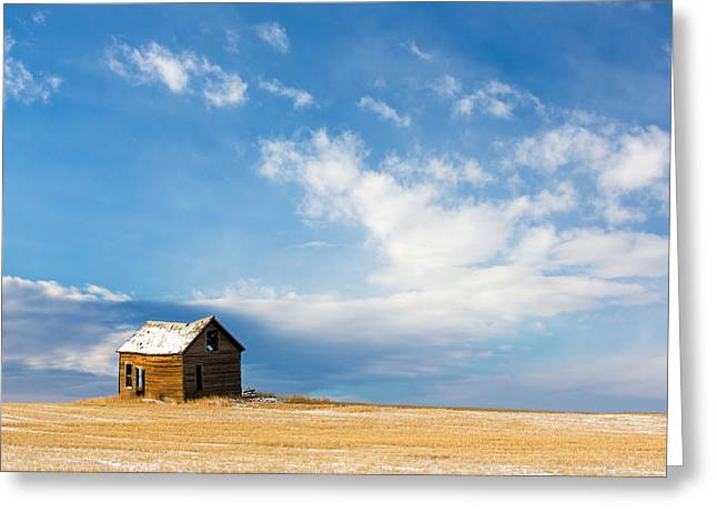 Little Old House Greeting Card by Todd Klassy