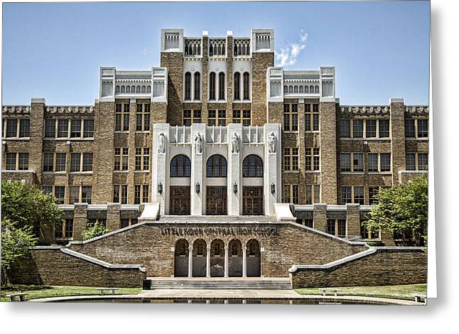 Historic Site Greeting Cards - Little Rock Central High Greeting Card by Stephen Stookey