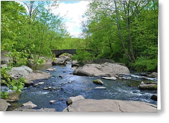 Stream Digital Greeting Cards - Little Unami Creek - Pennsylvania Greeting Card by Bill Cannon