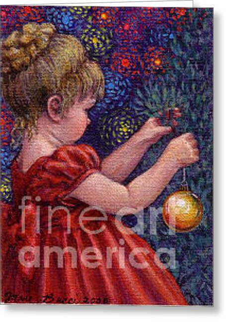 Occupy Beijing Greeting Cards - Little Winter Girl Greeting Card by Jane Bucci