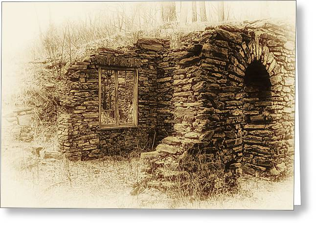 Old Mills Greeting Cards - Living in the Past Greeting Card by Bill Cannon