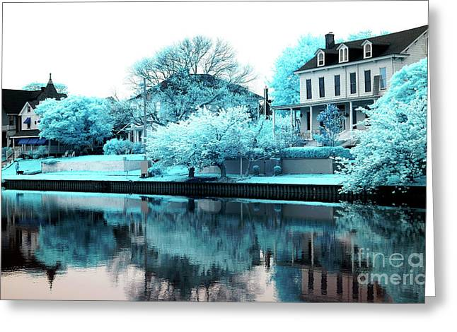 Living Artist Greeting Cards - Living on Lake Terrace Greeting Card by John Rizzuto