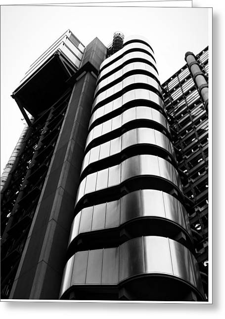 Window Light Greeting Cards - Lloyds of London Greeting Card by Martin Newman