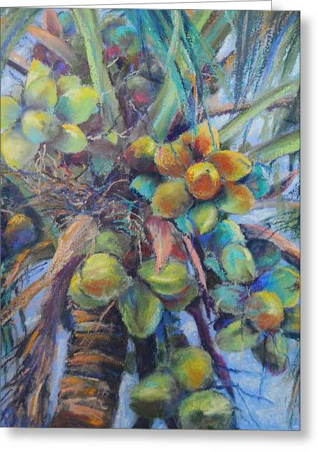Tropical Beach Pastels Greeting Cards - Loaded Greeting Card by Patricia Maguire