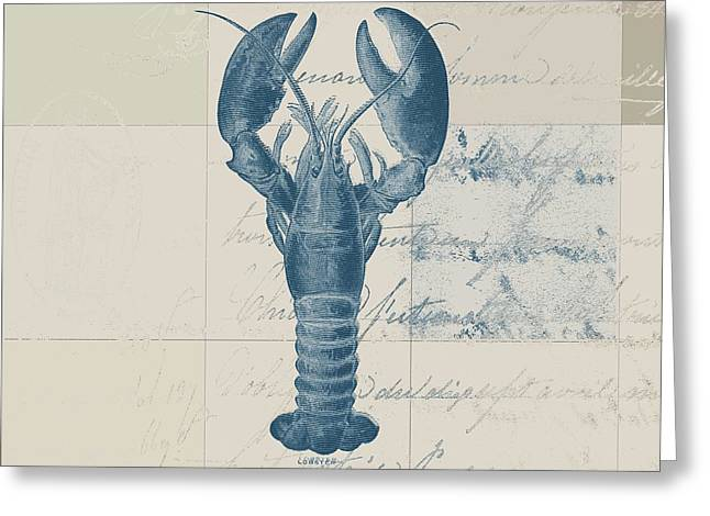 Lobster - J122129185-1211 Greeting Card by Variance Collections