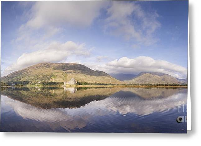 Loch Awe Panorama Greeting Card by Colin and Linda McKie